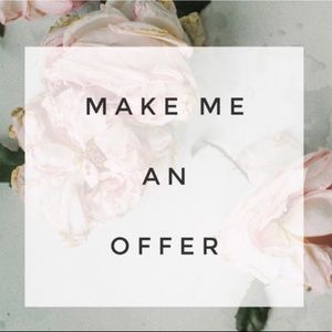 🌟Make me an offer. I will accept or counter. 🌟